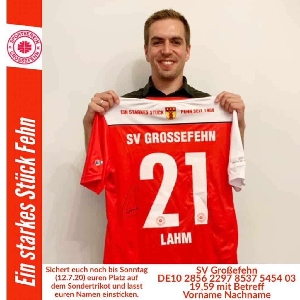 Philipp Lahm unterstützt den sozialen Jahresplan