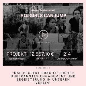 """Zitat: """"Das Projekt brachte bisher unbekanntes Engagement und Begeisterung in unseren Verein"""""""